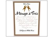 2009 Ménage à Trois White Wine
