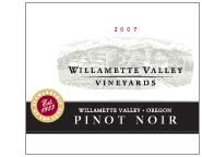 2007 Willamette Valley Vineyards Pinot Noir